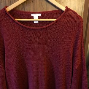 🍎H&M Red Knit Sweater🍎